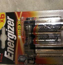 Baterii energizante
