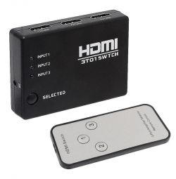 HDMI switch (3x1 switcher) with 3D 4Kx2K support