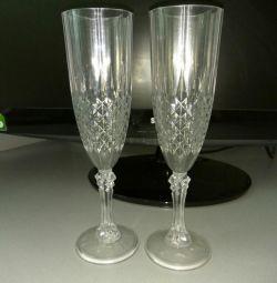 Pahare de vin din plastic
