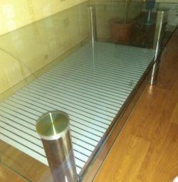 Masă de sticlă de înaltă tehnologie