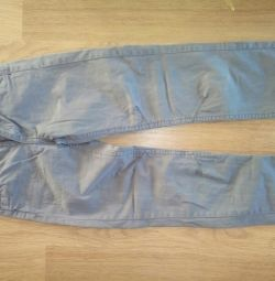 Jeans for a boy height of 140cm.