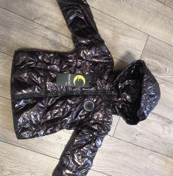 Куртка новая демисезонная 80+6