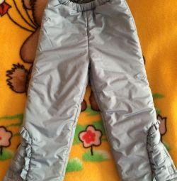 Pantaloni calzi 116cm
