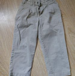 Trousers easy 5-7 years