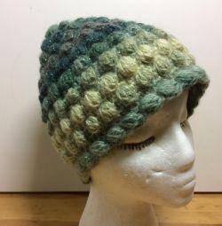 Восхитительная изумрудная шапочка, 54-57, арт 229