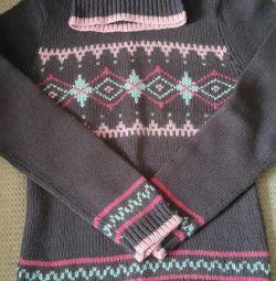 Χειμερινό πουλόβερ με λαιμό