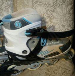 Sliding rollers, size 39-42