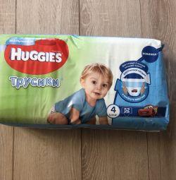 Huggies, panties, 9-14 kg