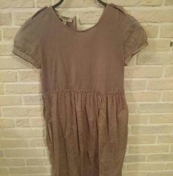 Φόρεμα Burberry και φούστα zara