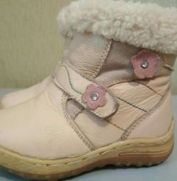 Leather winter boots_23 р.