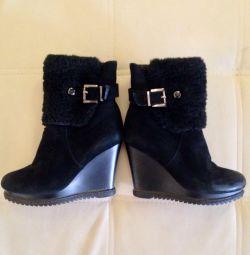 Ботинки зимние размер 35-36