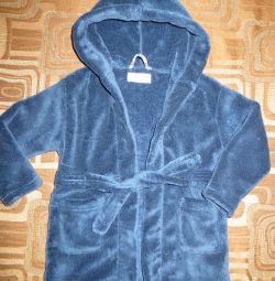 Branded bathrobe
