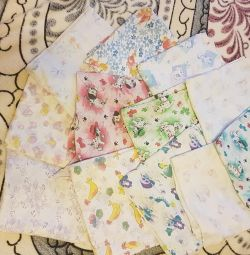Baby print diapers