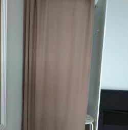 Curtain for the fitting room