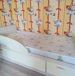 I will sell a bed + a mattress