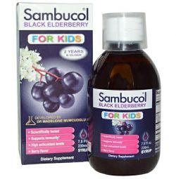 Sambucol, Black elderberry, Syrup for children