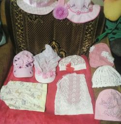 Panamas, kerchiefs, children's hats