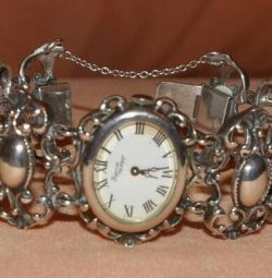 Silver vintage watch Bijoux Philipp