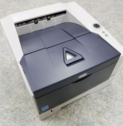 Kyocera FS-1320D, black and white laser printer, duplex