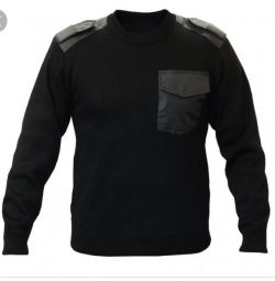 Black security sweater