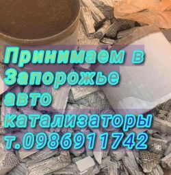 We buy catalysts Zaporizhia one hundred service