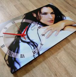 Clock picture by photo