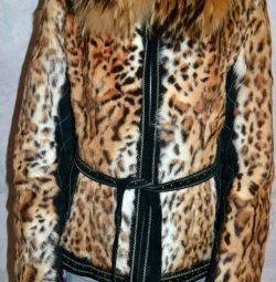 Atuni fur coat natural