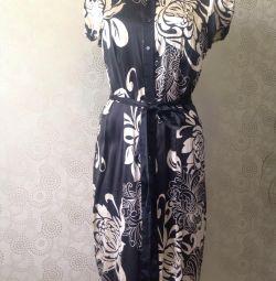 Шелковое платье,42-44