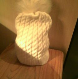 Capul pe fleece.
