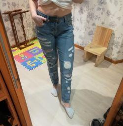 джинси високі