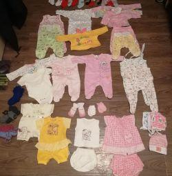Пакет одежды новорожденному