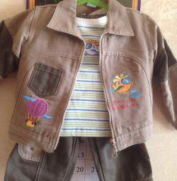 Erkek çocuk kıyafeti