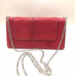 Τσαντάκι τσάντα συμπλέκτη κόκκινο, νέο, ΗΠΑ