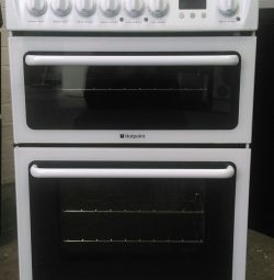 HOTPOINT DOUBLE OVEN ELECTRIC COOKER ** GRATUIT LOCAL D