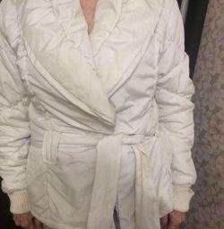 White jacket, jacket, jacket and sweater