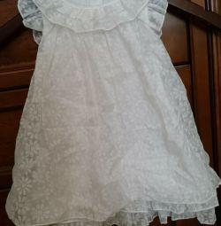 Elbise çocuk zarif yeni