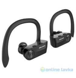 Awei T2 Wireless bluetooth Headphones black