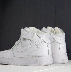 Adidași Nike Air Force 1 Alb