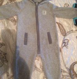 Fleece jumpsuit