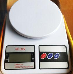 Yeni Mutfak elektronik 10 kilograma kadar ölçekler
