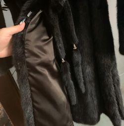 Γούνα παλτό Mink❗️ Δώρο δώρου 🎁