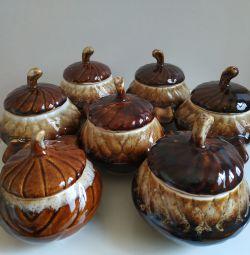 Vasele de prăjire 250 ml