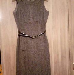 Φόρεμα μαλλί 70%, s.40-42