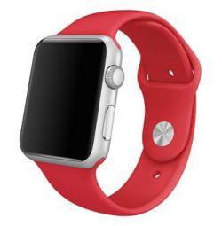 Ремешок для Apple Watch 42 Sport band черный