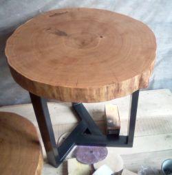 Stejar de masă cu ferăstrău