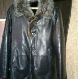 I sell a natural sheepskin coat
