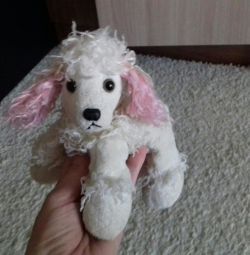 Poodle soft toy