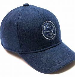 Șapcă de baseball Armani Jeans (lână)