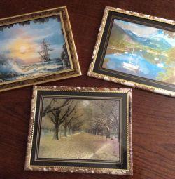 Картини новие.цена за кожну