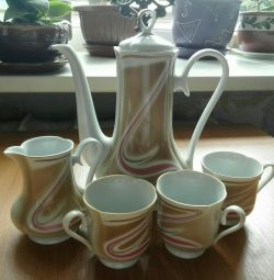 Coffee set of the times of the USSR
